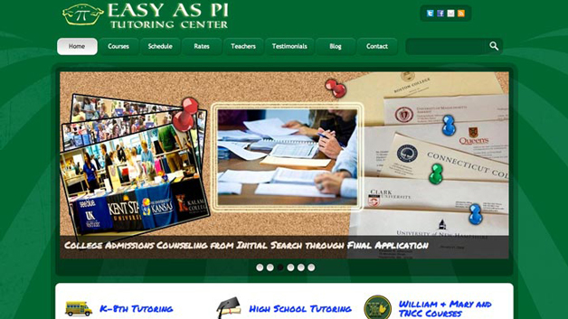 Easy-as-Pi-Tutoring-Center-website