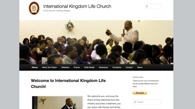 International-Kingdom-Life-Church-website-in-a-day