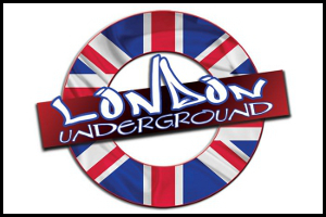 London Underground Williamsburg VA Graphic Design Logo