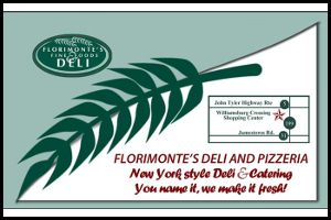 Florimonte Williamsburg VA Graphic Design Business Card