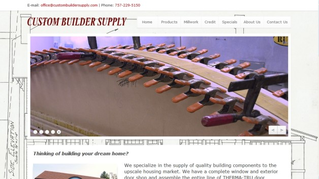 Custom Builder Supply In Williamsburg Va