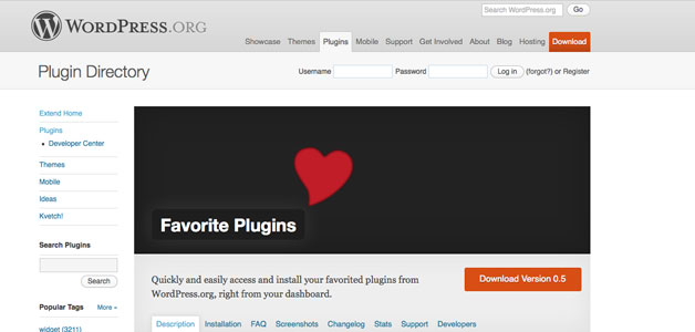 favorite-plugins