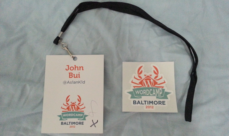 WordCamp, WordPress, Baltimore, developer track and user track