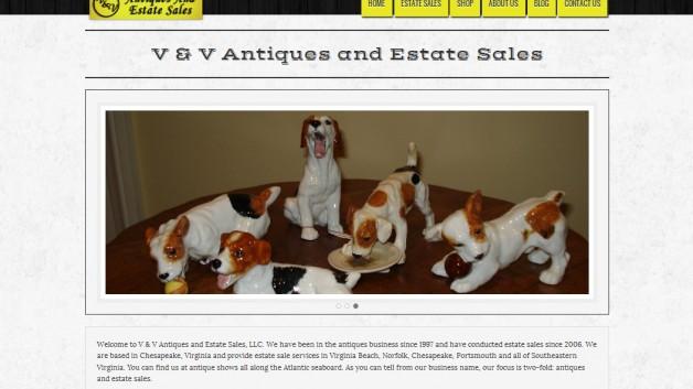 V and V Antiques
