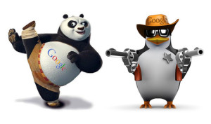 Panda, Penguin, SEO, website design