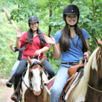 Horseback ride after the rain 1