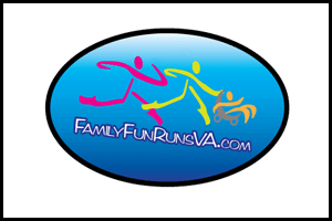 Family Fun Runs VA Williamsburg VA Graphic Design Logo