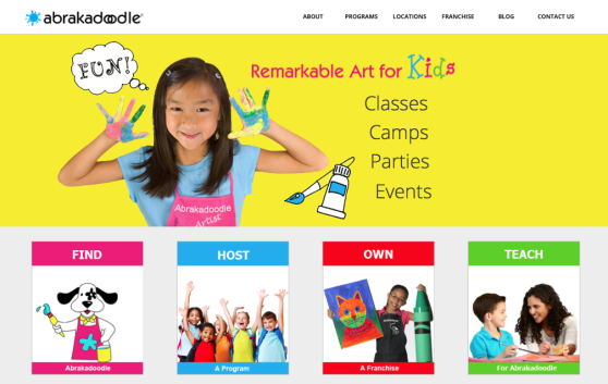 abrakadoodle website design williamsburg va, richmond va website design